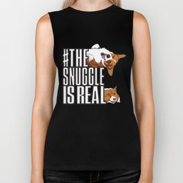 The Snuggle is Real Biker Tank