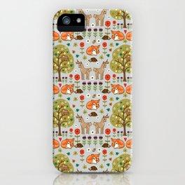 Woodland Wild Things iPhone Case