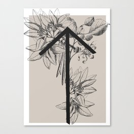 Natural Warrior Canvas Print
