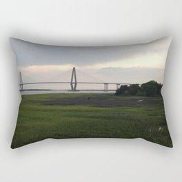 Another View of the Arthur Ravenel Jr. Bridge Rectangular Pillow