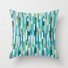 City by the Bay, Rainy Bay Day Throw Pillow