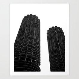 Marina City Chicago Architecture Art Print
