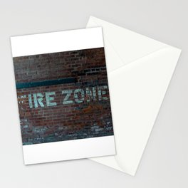 The (F) Ire Zone Stationery Cards