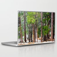 forrest Laptop & iPad Skins featuring Forrest by Savannah Ault