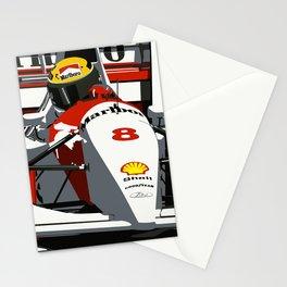 AYRTON SENNA- MONACO GRAND PRIX Stationery Cards