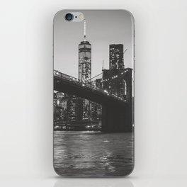 New York Nights iPhone Skin