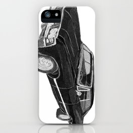 '67 Chevy Impala (w/o background) iPhone Case