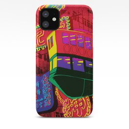 Flying Ferry iPhone Case
