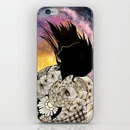 SPIRALS OF LIFE iPhone Skin