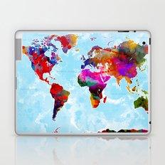 World Map - 3 Laptop & iPad Skin