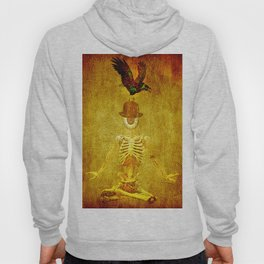 Monsieur Bone and Archibald the crow Hoody