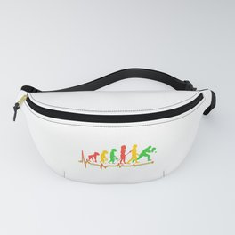 Ping Pong Gift Table Tennis Gift Ping Pong Heartbeat Evolution Fanny Pack