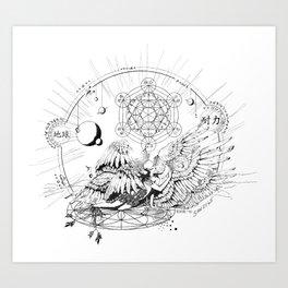 Seraphim Ninefold Ardour Art Print