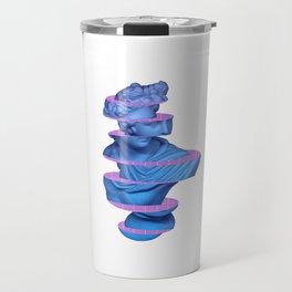 Vaporwave Marble Roman Greek 3D Sliced Statue Gift Travel Mug