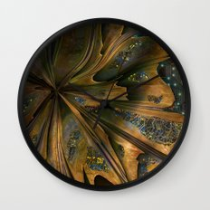 Digital Decay Wall Clock