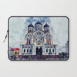 Alexander Nevsky Cathedral Tallinn Laptop Sleeve