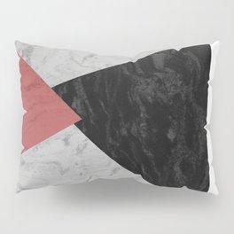 MARBLE TRIANGULES Pillow Sham
