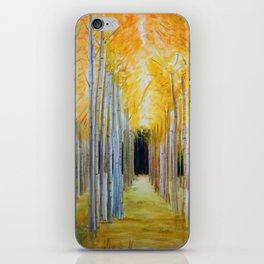 Trees' Path iPhone Skin
