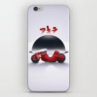 akira iPhone & iPod Skins featuring AKIRA by vsMJ