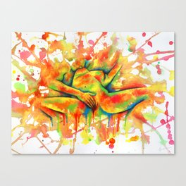 Colorful Climax Canvas Print