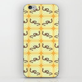 Snakes pattern iPhone Skin