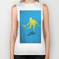 skateboard Biker Tanks featuring skateboard  by Easyposters