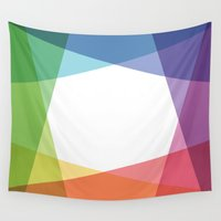 fig Wall Tapestries featuring Fig. 001 by Maps of Imaginary Places