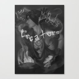 Morrigan, Creature of Mythal Canvas Print