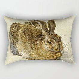 Albrecht Durer - Hare Rectangular Pillow