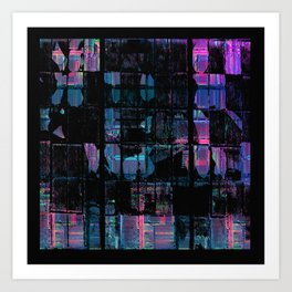 The Grid Art Print