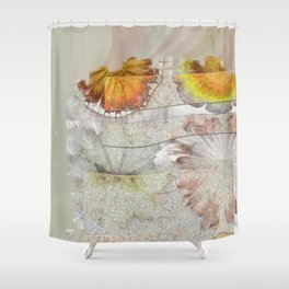 Jamoke Layout Flower  ID:16165-022406-67031 Shower Curtain