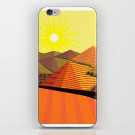 Valle de Guadelupe Eye into a Dream iPhone Skin