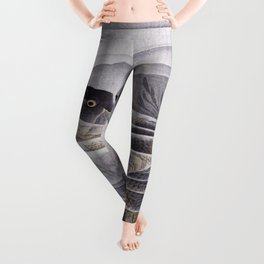 Kawanabe Kyosai - Carps - Digital Remastered Edition Leggings