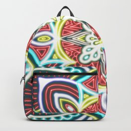 Mandala Glow Central  Backpack