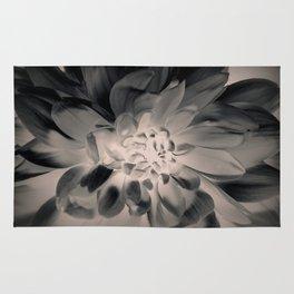 Black Dahlia Rug