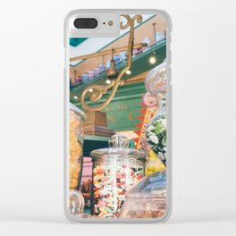 Sweets Shop Clear iPhone Case
