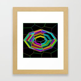 Octagonal and Some Framed Art Print