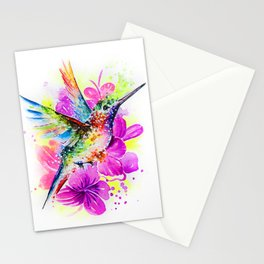 Flaying Rainbow Stationery Cards