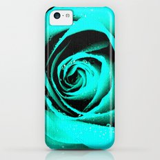 CYAN ROSE - For IPhone - Slim Case iPhone 5c