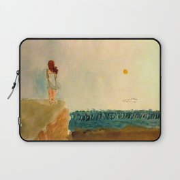 When The End Comes Rolling In Laptop Sleeve