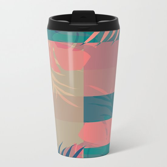 Tropical Mess #society6 #decor #buyart Metal Travel Mug
