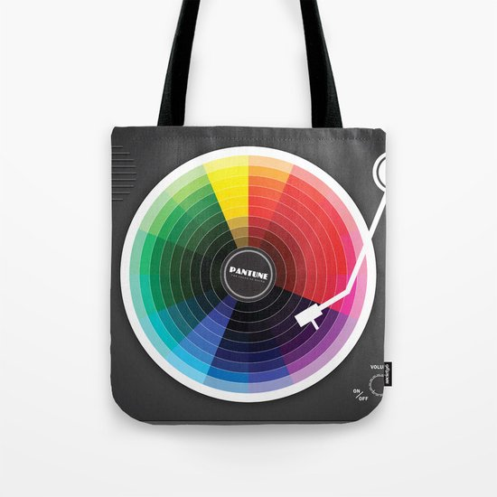 Pantune - The Color of Sound Tote Bag