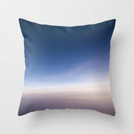 silent morning above Java Throw Pillow