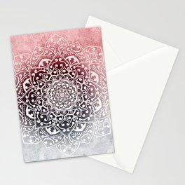 HYGGE WINTER VIBES MANDALA Stationery Cards