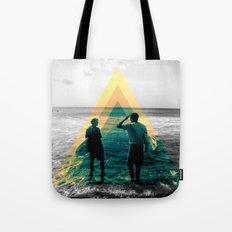 Shape of the ocean Tote Bag