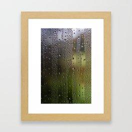 Droplet Landscape I Framed Art Print