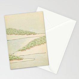 Minimalist Trees Stationery Cards