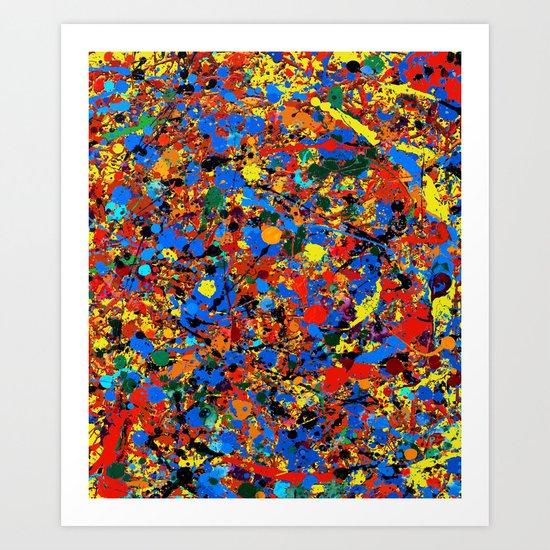 Abstract #744 Veronica Art Print