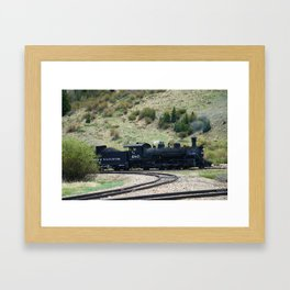 Durango&Silverton Engine 480 Framed Art Print