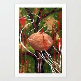 The Walnut Tree Art Print